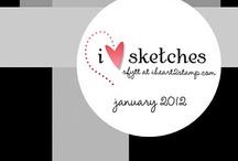 Card Sketches / by Rebecca Prusak