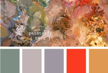 Color Palettes / by Hailey and Ellen