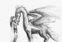 Story Board- Untitled Dragon Novel / by Adriana Lister