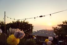 A Backyard Rehearsal / just some ideas for a house party  / by Divya Silbermann (Bhaskaran)