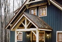 Tiny Cottage in the Woods / by Kathryn Tippett