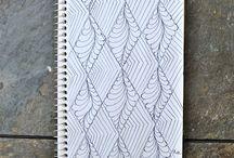 zentangle ideas / by Sue Tsangaris