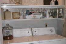 Laundry Rooms / by Faith Buzbee