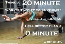 WorkOut / fitness. motivation. inspiration. / by Jenny Howard