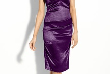 Bridesmaid Dresses for B&B's wedding / Purple as an eggplant! / by Janae Holmes
