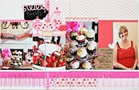 Scrapbooking: Four Photos / Layouts using 4 / by Oh Yvonne