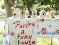 Little Girl Party Ideas / by Brittney Lemenager