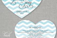 Wedding Invites, Programs and other Papers / by Beautiful Memories Cinematography