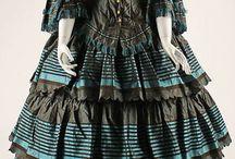 Antique Fashion 1850's / by Jennifer Thompson