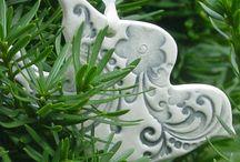 Pottery - Christmas / by Linda Embrey Neubauer