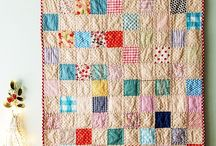 Fabrics & Textures. Patchwork & Embroidery / by Rebeca López