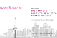 1 Minute Toronto Real Estate Market Update / I present you with the 1 minute Toronto real estate market update, straight to the point & quick! Tune in here twice a month where I will be giving you an update during the first 14 days of every month as well as an update at the end of the month for the Toronto real estate market. In 1 minute you'll find out how our market is doing, whether it's a buyers or sellers market and Toronto real estate prices. / by Realty Queen TO