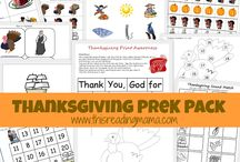 Homeschool: Thanksgiving / by Kim @ His Special Kids' Families