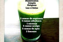Jugos medicinales / by Hilda Salazar