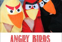 Angry Birds sewing / by Pat Consell