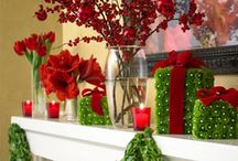 Seasonal Mantle Displays / A new hobby of mine.... / by Sharon Rowley- Momof6