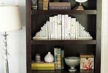 bookshelf organization / by Amy Marshall