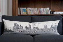 Pillows / by Scarlet Navarro
