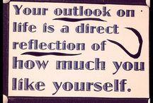 Words of wisdom. / by Amanda Robinson