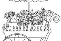 The Flower Cart / by Ken Sherri Patterson