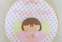 guirlandas e quadros infantis  ( decor baby 2) / by Eliana Domingos
