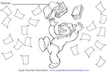 Super Teacher Worksheets - Teachers Helpers / by Super Teacher Worksheets