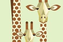 Giraffes!!!!!!! / by Aisling Beck