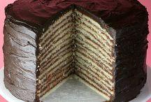Food - CAKES, Sweet PIES / by Luise Joyce
