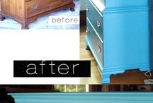 Furniture Makeover & Building Projects / by Jinger Jones