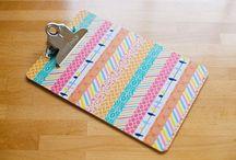 Washi Tape Ideas / by Fran Atkinson