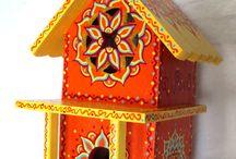 Birdhouses/Bee Dwellings / by Janay Meadors