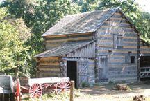 log cabin / by Lynn Sharon