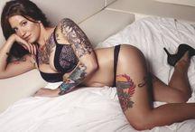 Hot Tattooed Women / Hot tattooed women / by Kelly Smith