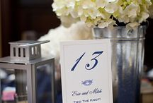 Table Numbers / by It's a Shore Thing Wedding & Event Planning