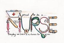 nursing <3 <3 / by Ashley McClain