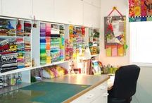 Sewing/Craft Rooms / by Debra Shaw