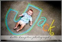 sidewalk chalk photos / by Hilary