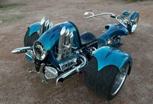 'Motorcycle and Trikes :-)!{~; & Scoots 2 / by Donl Weighall