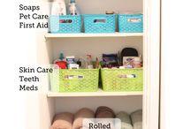 ORGANIZE EVERYTHING / Keep organized keep happy / by Brittani Sterns