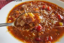 Recipes-Soups & Salads / by Alicia Schipp