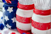 Red, White and Blue (DIY) / Green Patriotic Projects! / by Crafting a Green World