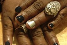 Nail Candy / Pretty nails make me smile. Here you'll find nail art, fabulous colors and DIY tricks.  / by Yolonda Spinks