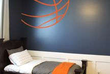 """decor - boys sports room / """"Sports"""" Theme For The Boys' Room / by Jayme M"""
