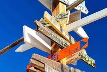 sign boards / by Akua Kumah