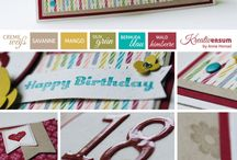 Stampin' Up! - Birthday Cards / by Stacey Lane, Stampin' Up!