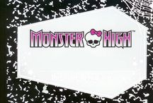 Monster high dolls / by candela obre