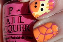 Fingernail ideas for my girls / Love to get a pedicure / by Debbie Lachenmeier Cecak