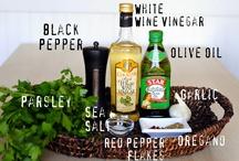 Marinades, Sauces & Spice Rubs / by Raquel Santiago Stringham