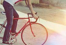 People Riding Bikes / by David Vo