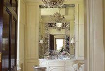■Dream Vanity□ / Dressing rooms, vanities, dressers & vintage makeup tables. / by Jasmine Jabez